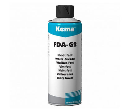 Billede af KEMA HVIDT FEDT FDA-G2 500 ML SPRAY