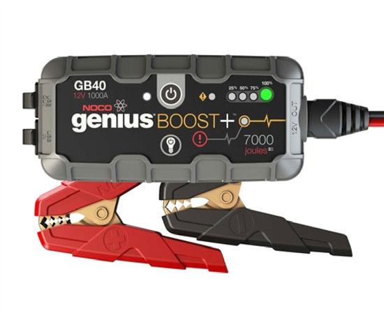 Billede af BOOSTER  NOCO GENIUS GB 40  12 VOLT  1000  AMP TIL BLYBATTERIER
