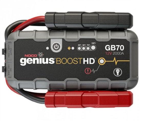 Billede af BOOSTER  NOCO GENIUS GB 70  12 VOLT  2000  AMP TIL BLYBATTERIER